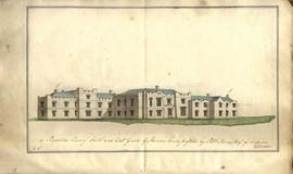 Architect's book of plans for Cardean House