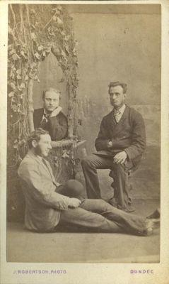 Edward Cox and 2 men